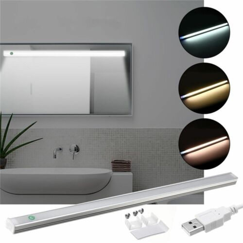 Rigid Strip Lamp Bar Usb Led Light Hard Tube Touch Dimmable Switch Night Lamps