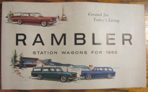 Cross Country 1960 Rambler Station Wagon Brochure