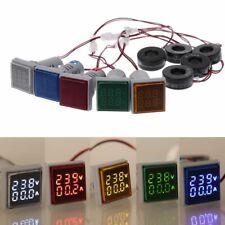 Led Digital Voltmeter Ammeter Detector Gauge Meter Ac 50 500v 0 100a