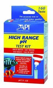 Copieux Api Haute Gamme De Ph Test Kit D'eau Douce Et Eau Salée Aquarium Marin 160 Tests-afficher Le Titre D'origine Bien Vendre Partout Dans Le Monde