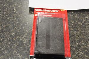 NEW 36266 ZINC BOX COVER FOR WET LOCATIONS BRONZE NEW