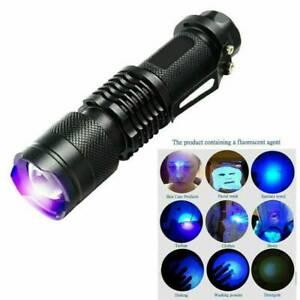 UV Ultraviolet Light 9 LED Flashlight BlackLight 395 nM Inspection Lamp Torch