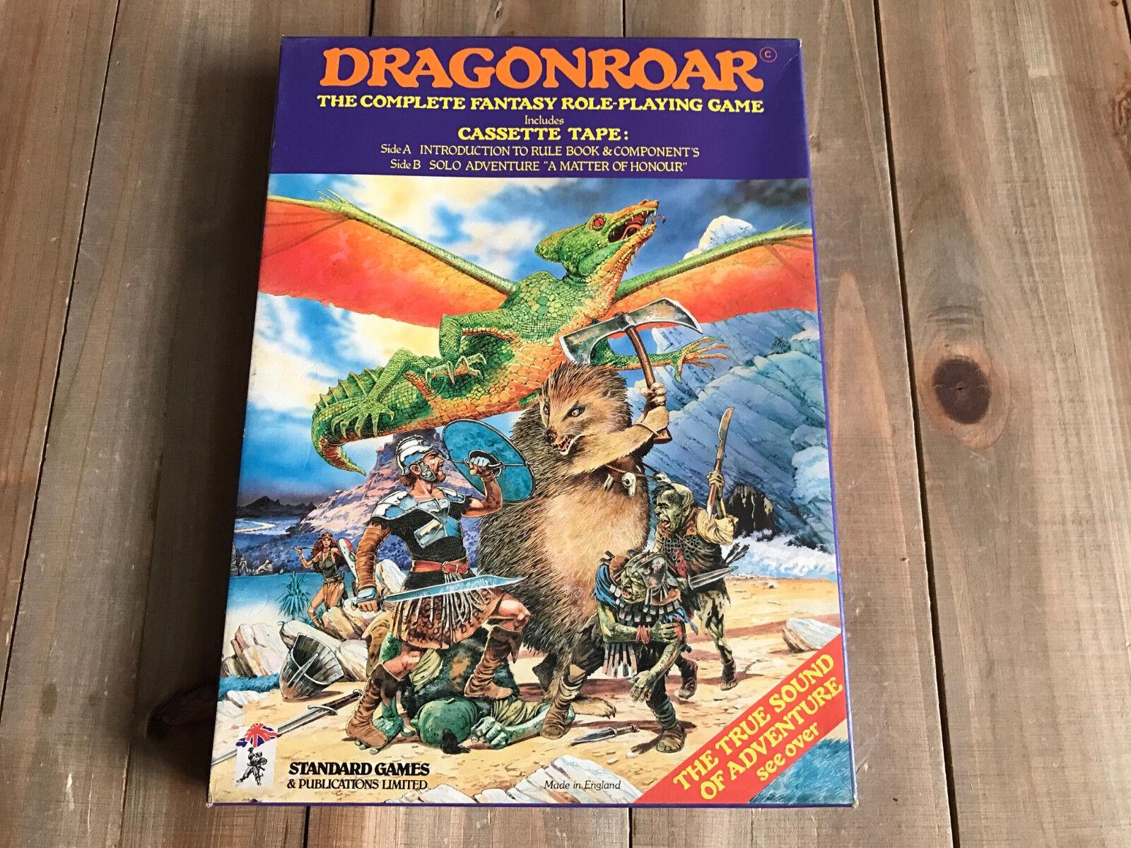 Dragonroar - Set Ruolo - Standard Games - Vintage Fantasy Rpg - Mint Condition