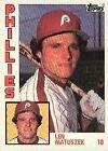 1984 Topps Len Matuszek #275 Baseball Card