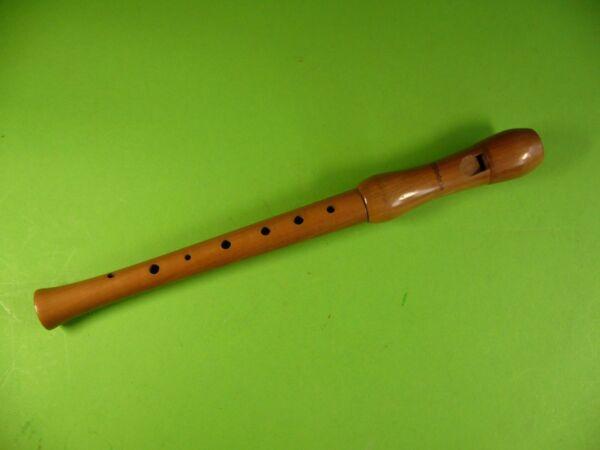 Alte Mollenhauer Blockflöte Aus Holz, Flöte