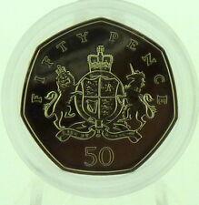 2013 Royal Mint BU 50p Royal Arms Design Ironside Brilliant Uncirculated Coin