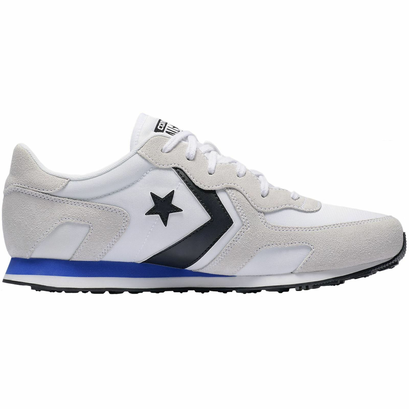 Converse Thunderbolt Ox White Hyper Royal Mens Suede Mesh Low-top Trainers