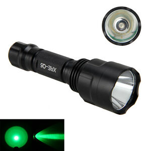 Zoomable Taschenlampe Weiß//Rot//Grün LED Taschenlampe Jagd Licht Flashlight Lamp