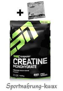 32-70-Kg-ESN-Creapure-Creatin-Monohydrate-500g-Produktprobe