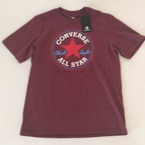 Converse-Chuck-Taylor-all-star-09202C-short-sleeve-T-shirt-New-with-tag
