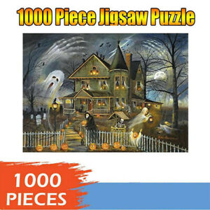 1000-Piece-Adult-Kid-Halloween-Ghost-Jigsaw-Puzzle-Children-Educational-Game-Toy