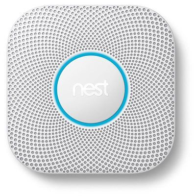 Nest S3003LWEF Protect 2nd Gen Smoke + Carbon Monoxide Alarm, Wired