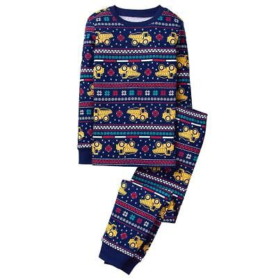 NWT Gymboree Christmas Santa Jingle Lights Gymmies Sleep Set Pajamas 5 6 7 8 10