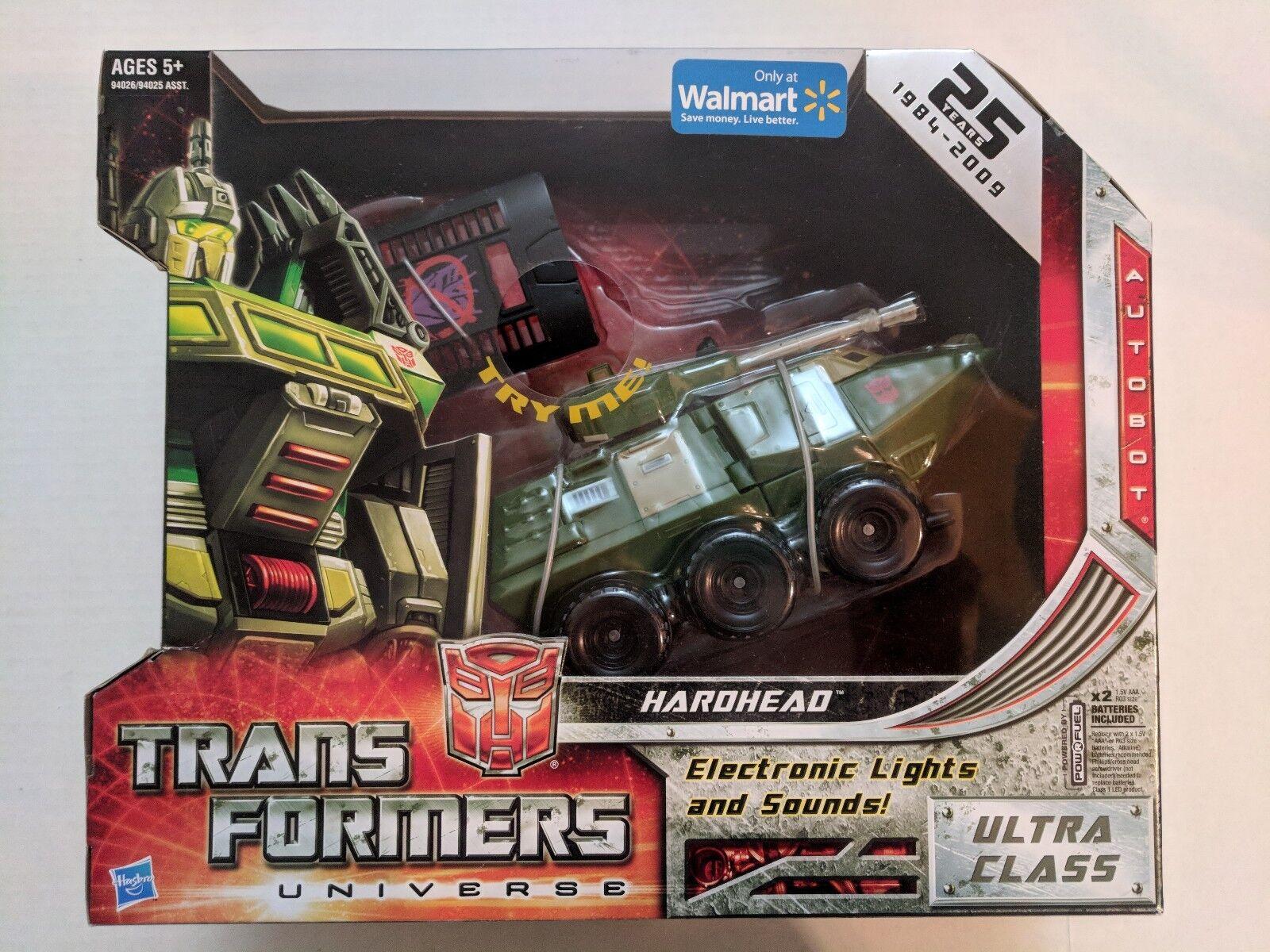 Transformers Universe RID Hardhead Walmart Exclusive MISB Classic Ultra Class
