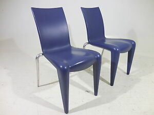 Image Is Loading 2 Original Philippe Starck Louis 20 Vitra Chairs
