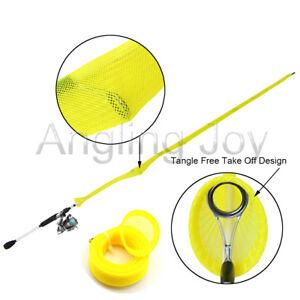 32 mm Width Casting Fishing Rod Sleeve Fishing Pole Sock Jacket Glove
