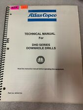 Atlas Copco Dhd Series Technical Manual Dhd Series Downhole Drill 374