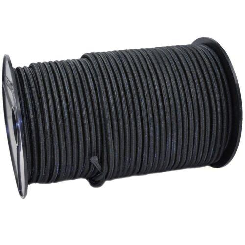 10mm Expanderseil 20m schwarz  für ABDECKPLANE GEWEBEPLANE PLANE elastic cord