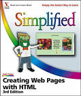 Creating Web Pages with HTML Simplified by Sherry Willard Kinkoph (Paperback, 2006)