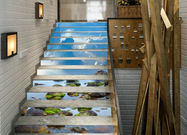 3D Sea View Bird 724 Risers Decoration Photo Mural Vinyl Decal Wallpaper CA