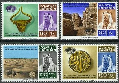 Middle East Stamps Bahrain 1970 ** Mi.181/84 Archäologie Archaeology Dilmun Palast Palace Invigorating Blood Circulation And Stopping Pains