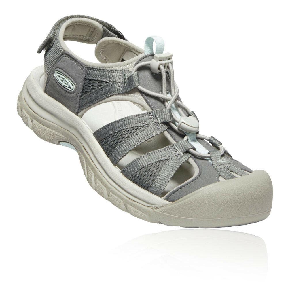 Keen Femme VENISE II H2 Chaussures De Marche Sandales Gris Sports Extérieur Respirant