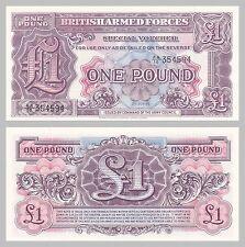 Großbritannien / Great Britain British Armed Forces 1 Pound 1948 pM22a unz.
