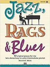 Jazz, Rags & Blues by Martha Mier - Book One (Book Only)