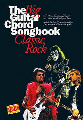Big Guitar Chord Songbook Classic Rock 2, , Very Good, Paperback