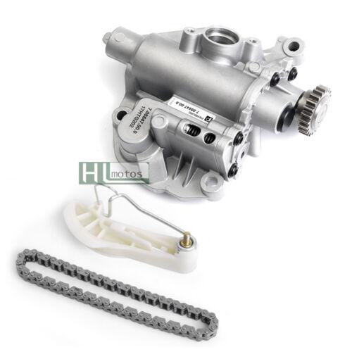 Oil Pump Assembly Chain Tensioner Set for VW Passat Audi A3 Q3 1.8 2.0 T  CCZA