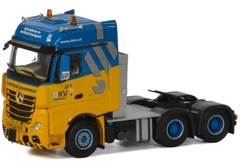 WSI01-2071 - Camion 6x4 MERCEDES  Actros Big Space aux couleurs BKV  - 1 50