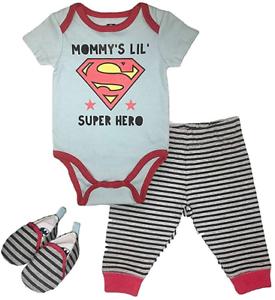 Infant Boys Batman Clothing Set DC Comics Batman Short Sleeve Bodysuit Pants