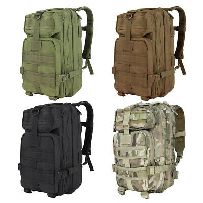 CONDOR COMPACT ASSAULT PACK ARMY PATROL MOLLE BACKPACK HIKING HUNTING OLIVE DRAB