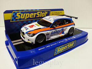 SCX-Scalextric-Slot-SuperSlot-H3735-BMW-125-Series-1-BTCC-2015-Tordoff-N-7