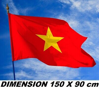 150 x 90 cm *** PROMOTION *** Drapeau Chili