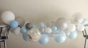 DIY-Balloon-Garland-Arch-Party-Kit-Boy-Baby-Shower-Boy-Birthday-Elephant-Idea