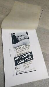 Mireille-Darc-Model-D-039-Poster-Cinema-034-Un-Body-A-Nuit-034-Elysee-Films