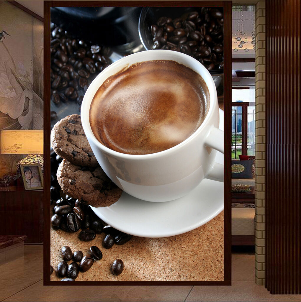3D Biscuits Coffee 191 WallPaper Murals Wall Print Decal Wall Deco AJ WALLPAPER