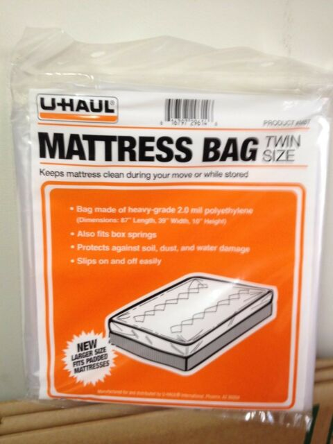 Twin Mattress bag for moving / storage / protection Ships ...