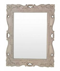 4bbfd7094c7 Details about Fancy Ornate Shabby Chic Pink Decorative Wall Looking Glass  Mirror