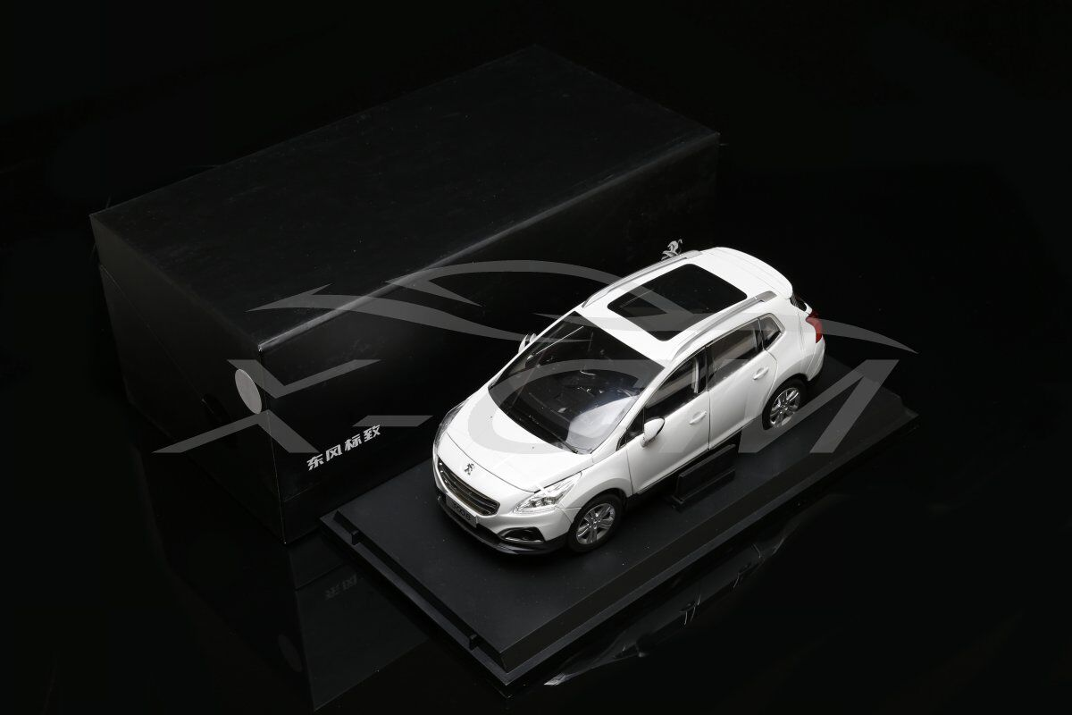 Diecast  voiture Model Peugeot 3008 SUV 1 18 (blanc) + GIFT  70% de réduction