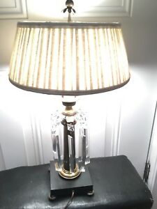 MCM-Chapman-Brass-Table-Lamp-with-Black-Base-and-Crystals