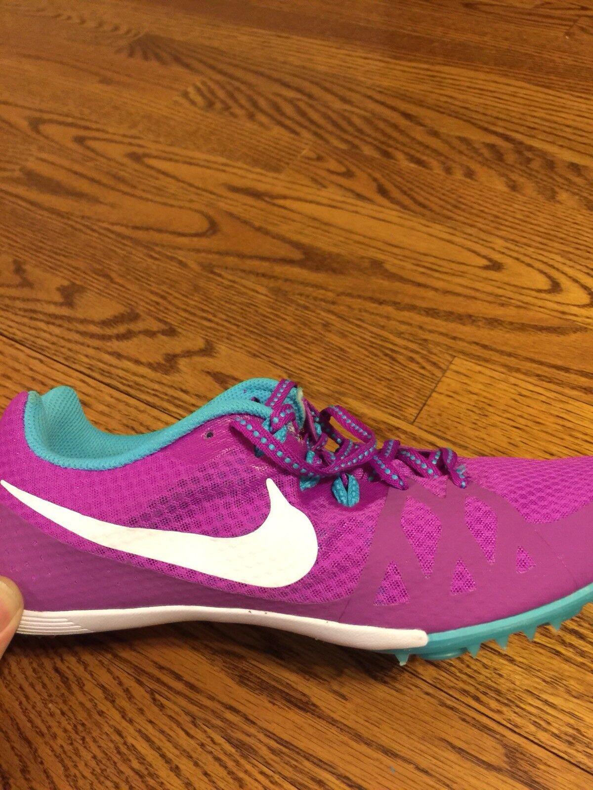 Nike rivale mutli usare usare usare pista campo spike viola scarpe femminili 9,5 euc | Qualità Primacy  | Scolaro/Ragazze Scarpa  3e5944