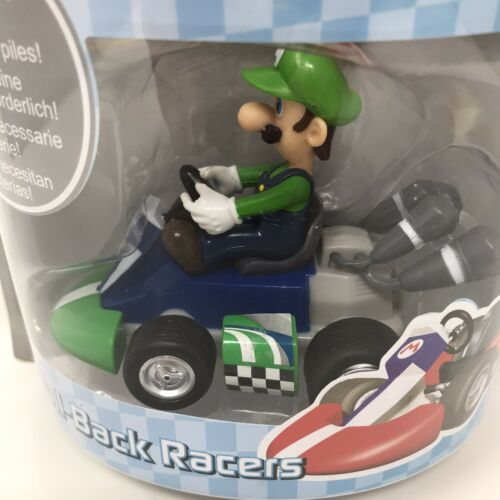 "Mario Kart Wii Pull Back Racer ""Luigi"" New /& Sealed Super Mario"