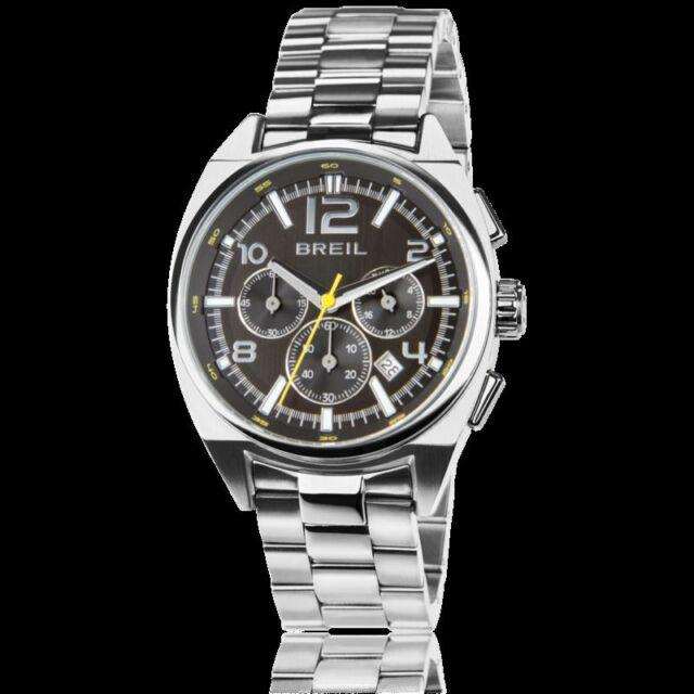 7e2b76be9bc Cronografo Uomo Master Tw1406 - Breil acciaio Orologio Nero Quarzo ...