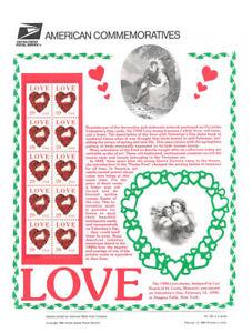 435-29c-Love-Stamp-2815-USPS-Commemorative-Stamp-Panel