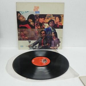 Film-Hits-1976-LP-Vinyl-Record-Rare-1st-Press-Bollywood-Hindi-Soundtrack-Indian