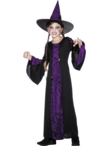 Strega Streghe Streghe Costume Ragazza Costume Bambini Costume Bambini Halloween Carnevale