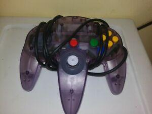 Official-Nintendo-64-N64-NUS-005-Joystick-Controller-Authentic-Atomic-Purple