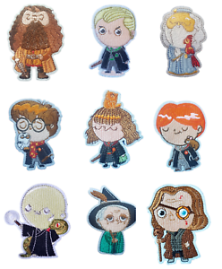 Harry Potter Inspired Characters Iron On Patch Sew on Transfers - Hogwarts